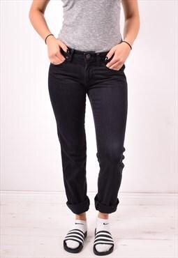 Wrangler Womens Vintage Jeans W28 L31 Black 90s