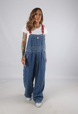 Vintage Denim Dungarees BICH REWORKED UK L 14 (9AS)