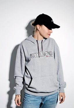 UMBRO grey hoodie warm sweater hooded oversized sweatshirt