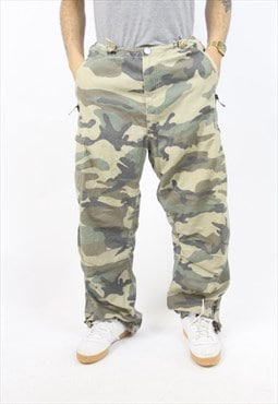 Vintage Bench Army Camo Trousers