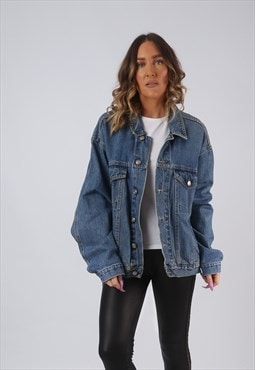 Denim Jacket Oversized Fitted UK 18  (CW3R)