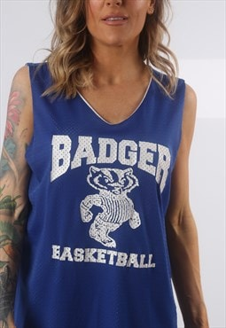 Sport Jersey Basketball BADGER Vest Top UK 18 (K72N)