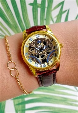 Traditional Skeleton Style Watch