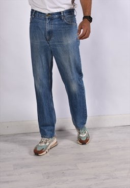 Vintage Lee Straight Leg Jeans Blue
