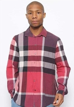 Vintage Burberry Nova Check Shirt Red