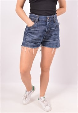 Vintage Levi's 501 Denim Shorts Blue
