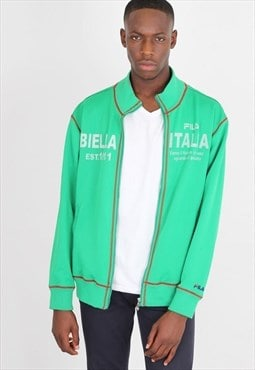 Vintage Green Fila  Sports tracksuit