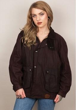 Vintage Wax Jacket Burberry