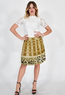 ROBERTO CAVALLI Multicolour Casual Skirt