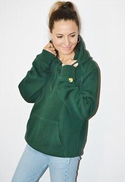 90's CARHARTT Vintage Green  Sweatshirt/Hoodie