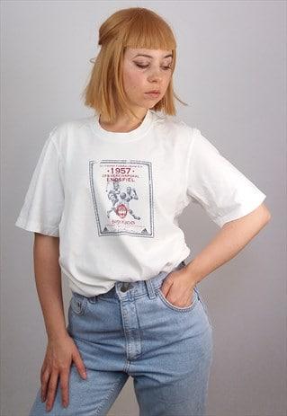 VINTAGE 90'S ADIDAS UNISEX T-SHIRT BAYERN MUNCHEN PRINT