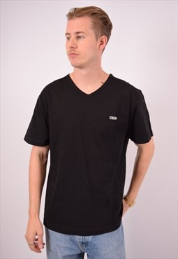 Vintage Fila T-Shirt Top Black