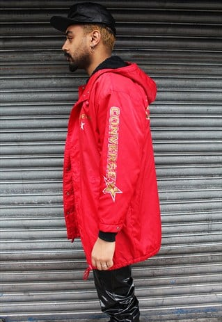VINTAGE CONVERSE RED COAT