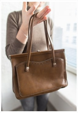 Vintage 60's Brown Bag