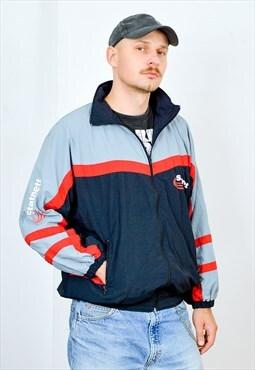STATNETT windbreaker Vintage shell jacket multi colour L