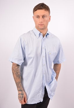 Vintage Burberry Shirt Blue