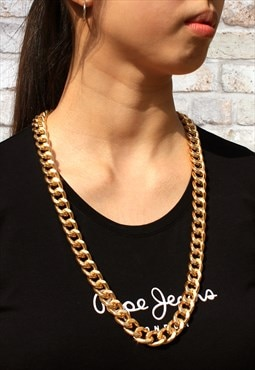 Chunky Gold Neck Chain (75cm)