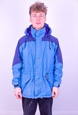 Vintage Berghaus Gore-Tex Mountain Parka Jacket in Blue