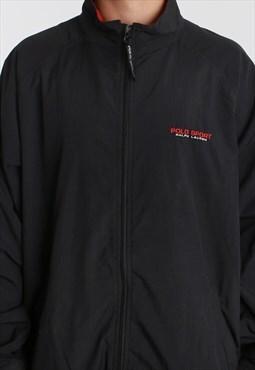 Vintage Polo Sport Classic Black Jacket