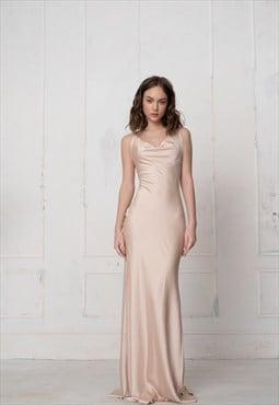 Florian elegant bridesmaid everning maxi dress