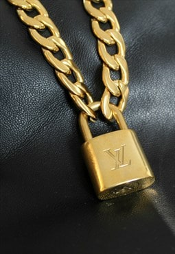 Louis Vuitton Padlock with Chunky Necklace
