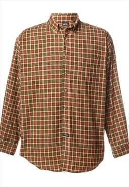 1990s Lee Checked Shirt - XL