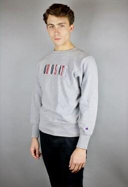 Vintage Champion Printed Sweatshirt