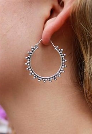 STARRY HOOPS LARGE