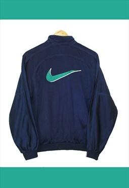 Vintage 90's Blue Nike Track Jacket - SEE SIZING (Ref:10/74)