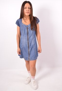 Vintage Diesel Denim Dress Blue