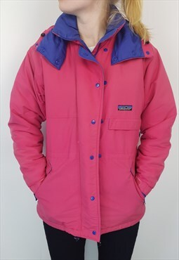 Patagonia - Pink and Purple Windbreaker Jacket (S)
