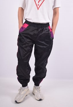 Vintage Tracksuit Trousers Black
