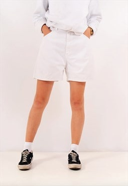 Vintage Lee Denim Shorts White Black