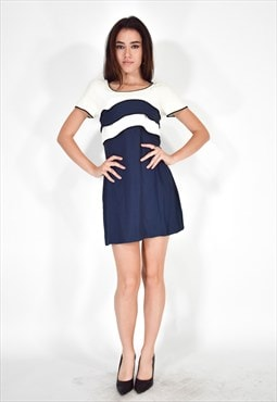 FENDI 365 Dress Blue - White