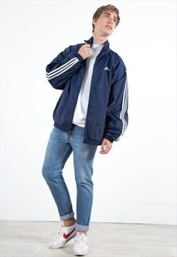 Vintage 90s Adidas Shell Jacket / S3913