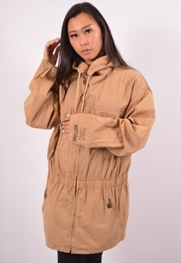 Vintage Moschino Parka Jacket Brown