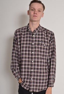 Vintage DKNY Check Flannel Shirt