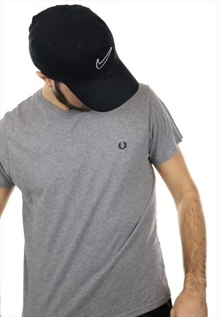 VINTAGE FRED PERRY T SHIRT GREY