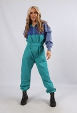 RARE Vintage 80's TRAIL Tracksuit Boilersuit Jumpsuit (C4T)