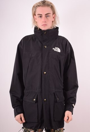 THE NORTH FACE MENS VINTAGE JACKET XL BLACK 90S