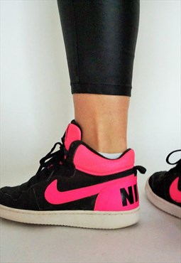 Vintage Nike High Boots Sneakers Shoes in Pink Basketball