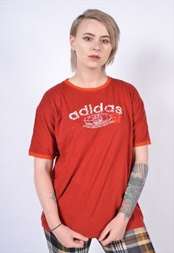 Vintage Adidas T-Shirt Red