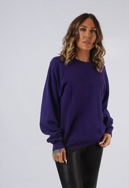 Sweatshirt Jumper LEE Oversized Coloured PLAIN UK 14 (GI5E)
