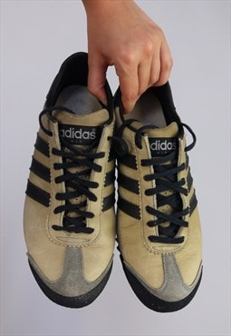 Vintage Rare 80's ADIDAS VIP Leather Sneakers - EU 40 2/3