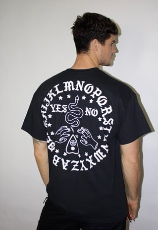 Ouija Board Black Tee