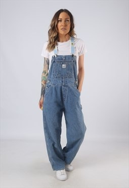 Vintage Denim Dungarees BICH REWORKED UK 12 Medium (GB3L)
