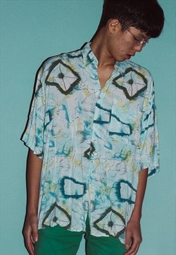 Vintage Abstract Pattern shirt