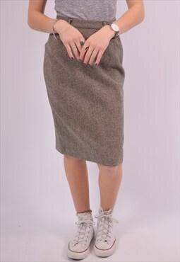 Patagonia Womens Vintage Skirt W28 Beige 90s