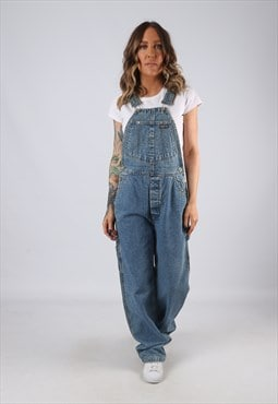Denim Dungarees GUESS Wide Straight Leg LONG LEG UK 10 (BJ4D
