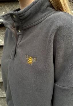 Bee, Cropped Fleece, Loungewear